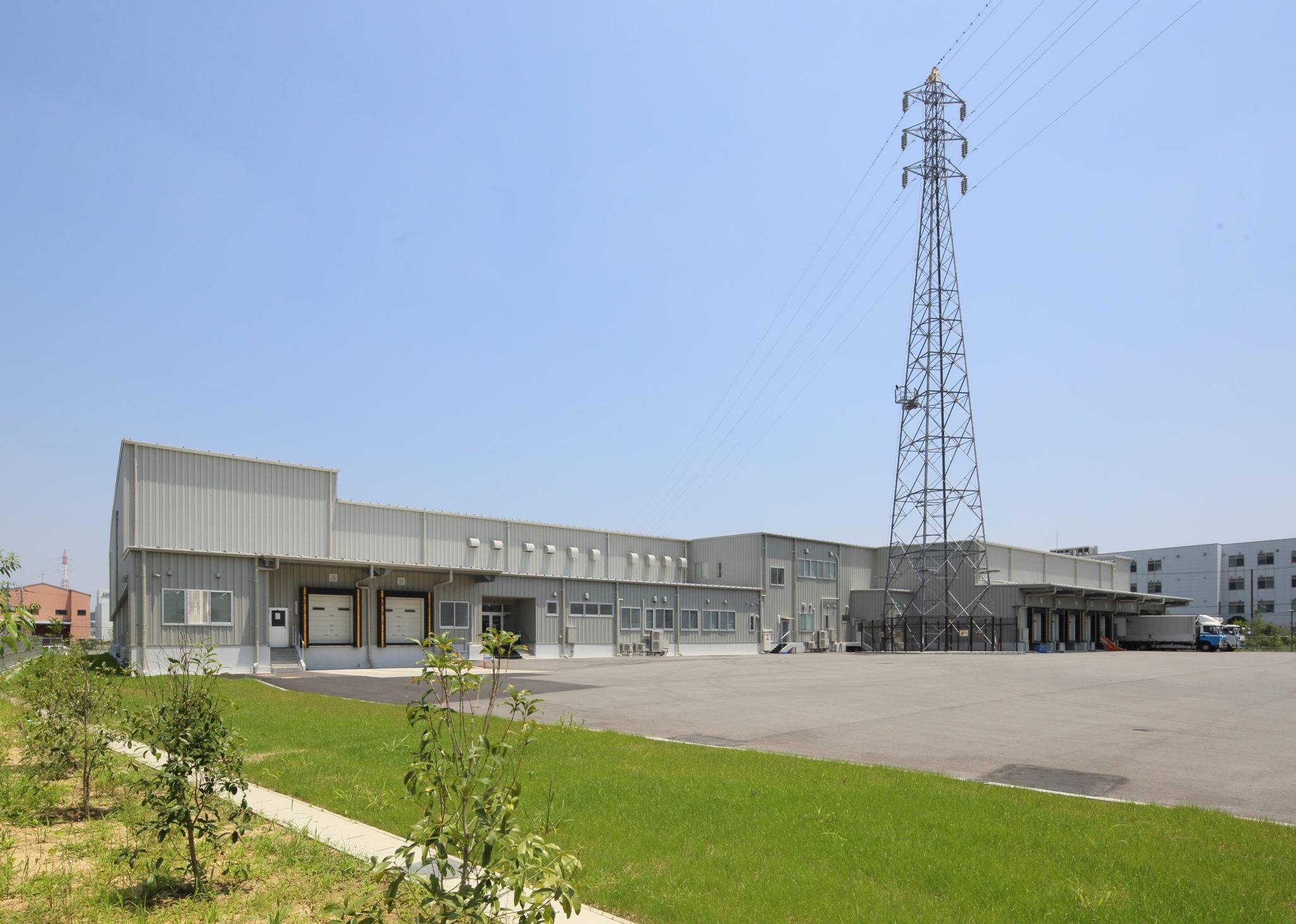 大阪柏原市工場 新築 外観南西面